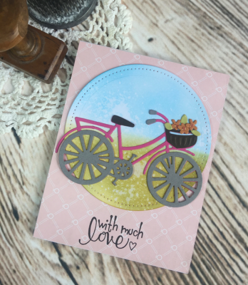 Spellbinders Die D-Lites Bicycle die set